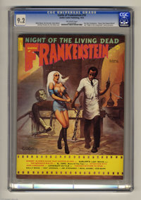 "Castle of Frankenstein #18 (Gothic Castle Printing, 1972) CGC NM- 9.2 Off-white pages. ""House That Dripped Blood&qu..."