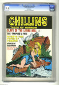 Bronze Age (1970-1979):Horror, Chilling Tales of Horror #7 (Stanley Publications, 1970) CGC NM 9.4Off-white pages. Cameron art. Overstreet 2004 NM- value ...