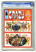 Magazines:Humor, Crazy Magazine #9 (Marvel, 1975) CGC NM 9.4 Off-white to whitepages. Kelly Freas cover. Will Eisner story and art. Other in...