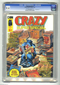 Magazines:Humor, Crazy Summer Special #1 (Marvel, 1975) CGC NM 9.4 Off-white towhite pages. This special issue has 100 pages with no ads. CG...