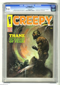 Magazines:Horror, Creepy #27 (Warren, 1969) CGC NM+ 9.6 Off-white pages. Frank Frazetta cover. Steve Ditko, Reed Crandall, Tom Sutton, Angelo ...