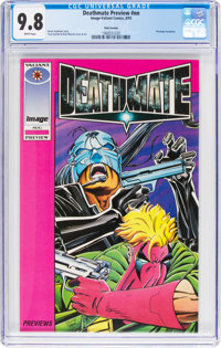 Deathmate Preview #nn Pink Variant (Image/Valiant, 1993) CGC NM/MT 9.8