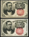 Fractional Currency:Fifth Issue, Fr. 1266 10¢ Fifth Issue About New;. Fr. 1266 10¢ Fifth IssueFine-VF.. ... (Total: 2 notes)