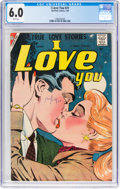 Silver Age (1956-1969):Romance, I Love You #21 (Charlton, 1959) CGC FN 6.0 White pages....