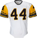 Football Collectibles:Uniforms, 1962-65 Willie Daniel Game Worn Pittsburgh Steelers Jersey. ...