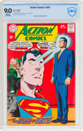 Silver Age (1956-1969):Superhero, Action Comics #362 (DC, 1968) CBCS VF/NM 9.0 White pages....