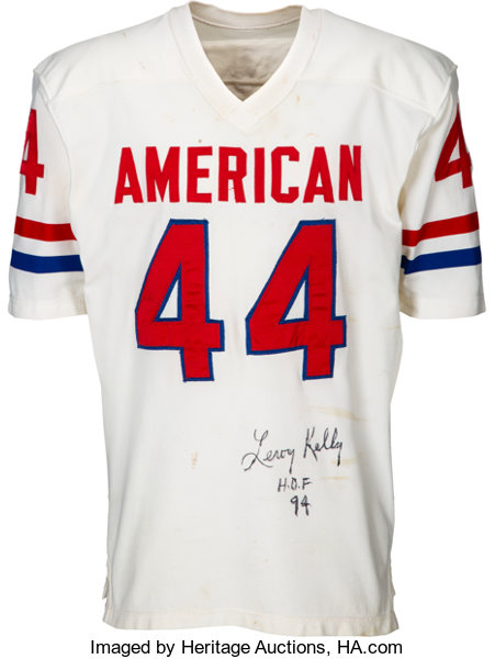 cheap for discount cdf73 8b439 1970-71 Leroy Kelly Game Worn & Signed Pro Bowl Jersey ...