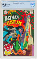 Silver Age (1956-1969):Superhero, The Brave and the Bold #76 Batman and Plastic Man (DC, 1968) CBCS NM- 9.2 White pages....