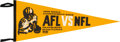 Football Collectibles:Others, 1968 Super Bowl II Pennant. ...