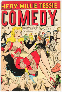 Comedy Comics #1 (Timely, 1948) Condition: FN/VF
