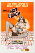"""Movie Posters:Adult, Hot Lunch (Essex, 1978) Folded, Very Fine. One Sheet (27"""" X 41""""). Adult...."""