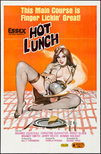 """Hot Lunch (Essex, 1978) Folded, Very Fine. One Sheet (27"""" X 41""""). Adult"""