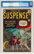 Silver Age (1956-1969):Horror, Tales of Suspense #30 (Marvel, 1962) CGC VG+ 4.5 Cream to off-white pages....