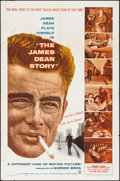 "Movie Posters:Documentary, The James Dean Story (Warner Brothers, 1957). Folded, Fine/Very Fine. One Sheet (27"" X 41""). Documentary...."