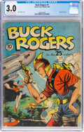Golden Age (1938-1955):Science Fiction, Buck Rogers #1 (Eastern Color, 1940) CGC GD/VG 3.0 Cream to off-white pages....