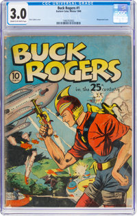 Buck Rogers #1 (Eastern Color, 1940) CGC GD/VG 3.0 Cream to off-white pages