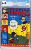 Platinum Age (1897-1937):Miscellaneous, Popular Comics #20 (Dell, 1937) CGC FN 6.0 Off-white to whitepages....