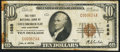 National Bank Notes:New Hampshire, Hillsborough, NH - $10 1929 Ty. 1 The First NB Ch. # 1688 Fine.. ...