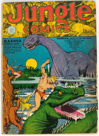 Jungle Comics #11 (Fiction House, 1940) Condition: GD/VG