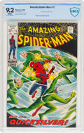 Silver Age (1956-1969):Superhero, The Amazing Spider-Man #71 (Marvel, 1969) CBCS NM- 9.2 White pages....