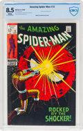Silver Age (1956-1969):Superhero, The Amazing Spider-Man #72 (Marvel, 1969) CBCS VF+ 8.5 White pages....