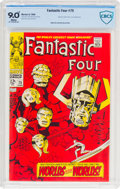 Silver Age (1956-1969):Superhero, Fantastic Four #75 (Marvel, 1968) CBCS VF/NM 9.0 White pages....