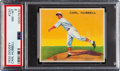Baseball Cards:Singles (1930-1939), 1933 Goudey Carl Hubbell #230 PSA NM-MT 8 - Only Two Higher. ...