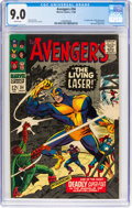 Silver Age (1956-1969):Superhero, The Avengers #34 (Marvel, 1966) CGC VF/NM 9.0 White pages....