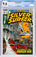 Bronze Age (1970-1979):Superhero, The Silver Surfer #13 (Marvel, 1970) CGC NM+ 9.6 White pages....