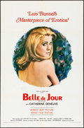 "Movie Posters:Foreign, Belle de Jour (Allied Artists, 1967) Folded, Very Fine-. One Sheet (27"" X 41""). Foreign. . ..."