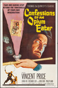 "Movie Posters:Exploitation, Confessions of an Opium Eater (Allied Artists, 1962) Folded, VeryFine-. One Sheet (27"" X 41""). Exploitation...."