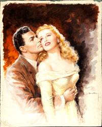It Had to Be You by Anselmo Ballester (Columbia, 1948). Fine/Very Fine. Signed Original Italian Gouache Artwork for 2 -...