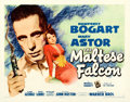 "Movie Posters:Film Noir, The Maltese Falcon (Warner Brothers, 1941). Fine+ on Paper. Half Sheet (22"" X 28"") Style A.. ..."