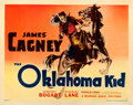 "Movie Posters:Western, The Oklahoma Kid (Warner Brothers, 1939). Very Fine- on Paper.Linen Finish Half Sheet (22"" X 28"") Style B.. ..."