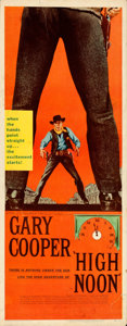 Movie Posters:Western, High Noon (United Artists, 1952). Rolled, Fine+. I...