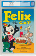 Golden Age (1938-1955):Funny Animal, Felix the Cat #2 (Dell, 1948) CGC NM 9.4 Cream to off-whitepages....