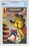 Silver Age (1956-1969):Superhero, The Amazing Spider-Man #67 (Marvel, 1968) CBCS VF+ 8.5 Off-white to white pages....