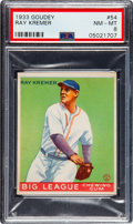 Baseball Cards:Singles (1930-1939), 1933 Goudey Ray Kremer #54 PSA NM-MT 8....