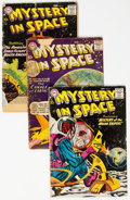 Silver Age (1956-1969):Science Fiction, Mystery in Space Group of 48 (DC, 1957-66) Condition: AverageGD.... (Total: 48 Comic Books)