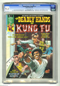 Magazines:Superhero, The Deadly Hands of Kung Fu #3 (Marvel, 1974) CGC NM- 9.2 Off-whiteto white pages. Neal Adams cover. Dick Giordano, Paul Gu...