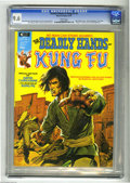 "Magazines:Miscellaneous, The Deadly Hands of Kung Fu #4 (Marvel, 1974) CGC NM+ 9.6 Whitepages. Neal Adams cover. ""Enter the Dragon"" text story. Spec..."