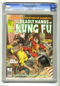 Magazines:Miscellaneous, The Deadly Hands of Kung Fu #33 (Marvel, 1977) CGC NM 9.4 Whitepages. Chris Claremont and Doug Moench stories. Marshall Rog...