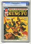 Magazines:Miscellaneous, The Deadly Hands of Kung Fu Annual #1 (Marvel, 1974) CGC NM 9.4Off-white to white pages. Doug Moench story, Frank McLaughli...