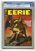 Magazines:Horror, Eerie #80 (Warren, 1977) CGC NM+ 9.6 White pages. Origin of Darklon the Mystic. Ken Kelly cover. Jim Starlin and Carmine Inf...