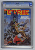 Magazines:Horror, Eerie #130 (Warren, 1982) CGC NM 9.4 Off-white pages. Vampirella, Pantha, and Van Helsing appear. Steve Fastner and Rich Lar...