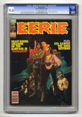 Magazines:Horror, Eerie #132 (Warren, 1982) CGC NM 9.4 Off-white to white pages. Rook returns. Manuel Sanjulian cover art. Overstreet 2004 NM-...