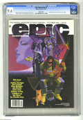 """Modern Age (1980-Present):Miscellaneous, Epic Illustrated #8 (Marvel, 1981) CGC NM+ 9.6 White pages. """"Children of the Stars"""" by Charles Vess begins. Howard Chaykin c..."""