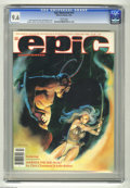 Modern Age (1980-Present):Miscellaneous, Epic Illustrated #10 (Marvel, 1982) CGC NM+ 9.6 White pages. Marada the She-Wolf cover and story by Chris Claremont and John...