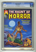 Bronze Age (1970-1979):Horror, The Haunt of Horror #1 (Curtis, 1974) CGC NM 9.4 Off-white to whitepages. Bob Larkin cover. Alfredo Alcala frontispiece. Ra...