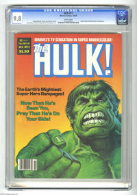 Hulk #17 (Marvel, 1979) CGC NM/MT 9.8 White pages. Earl Norem cover. Gene Colan and Bob Wiacek frontispiece. Ron Wilson...